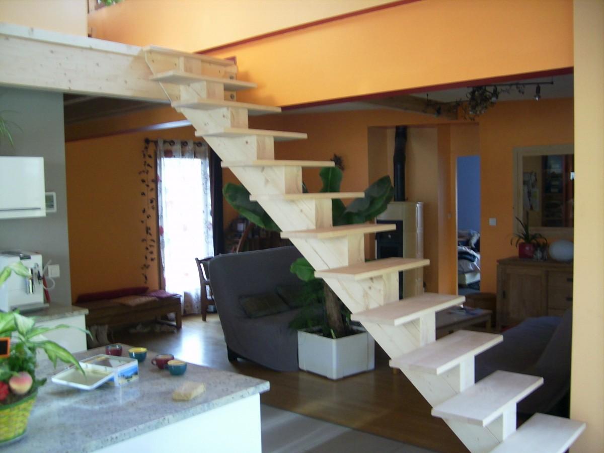 Escalier - Escalier central maison ...
