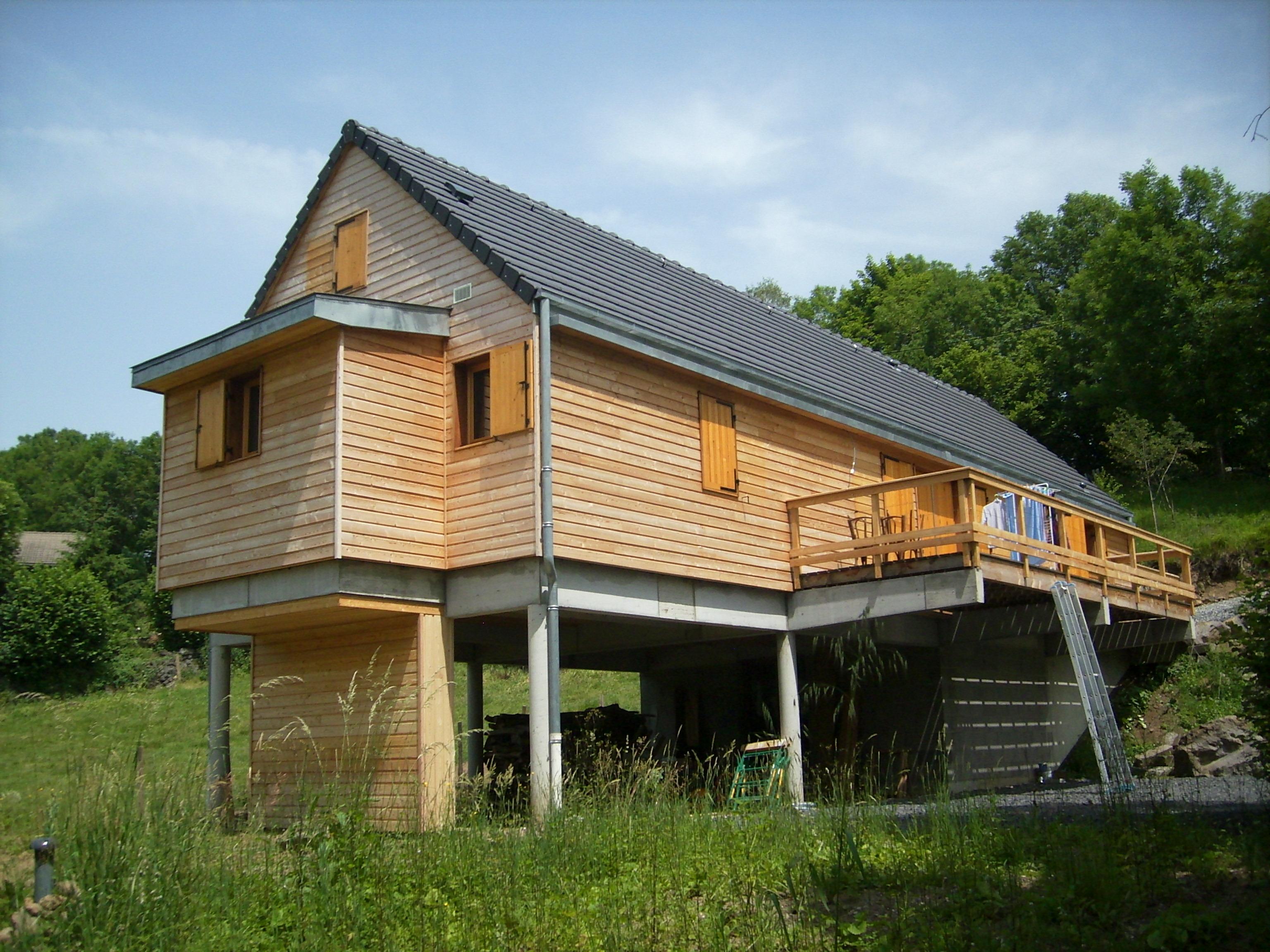 Maisons bioclimatiques for Maison construction rapide
